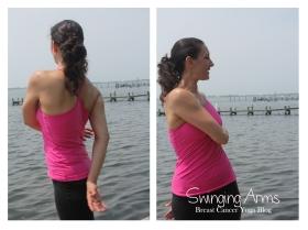 Swing Arms Yoga Pose
