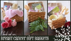 Breast Cancer Yoga Gift Baskets