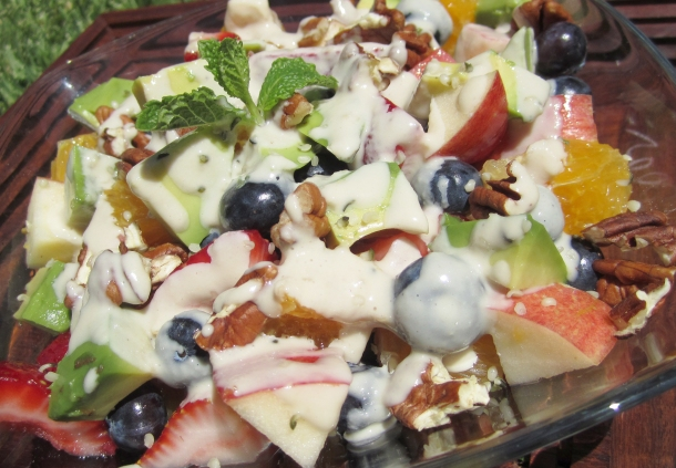 Fruit-Salad-with-Cashew-Cream