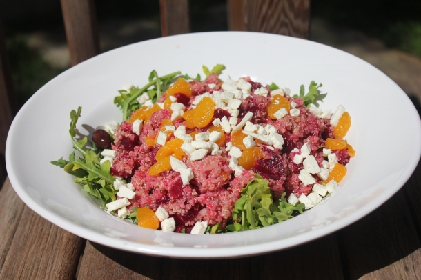Quinoa & Beet Salad Recipe For Breast Cancer By Diana Ross Founder of Breast Cancer Yoga