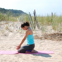 Bali Seal Yoga Pose
