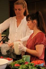 Kelli Roberts Vegan Cooking Class