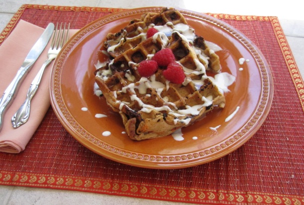 carrot-cake-waffles for breast cancer