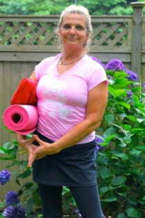 Diana Ross Founder of Breast Cancer Yoga