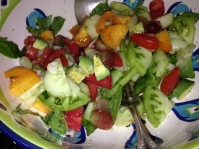 Fresh Salad for Good Health