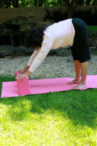 Leap Frog Yoga Pose For Breast Cancer