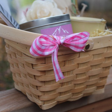 Organic Gift Basket For Breast Cancer