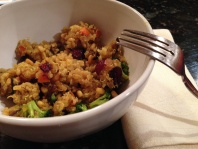 Quinoa Veggie Curry For Breast Cancer