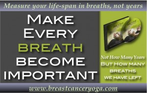 Breath Importance Breathing Exercise CD's From Breast Cancer Yog