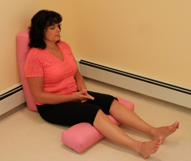 Breathing For Breast Cancer Pose