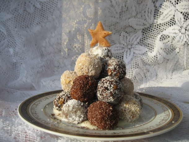 Vegan Christmas Truffles For Breast Cancer Prevention