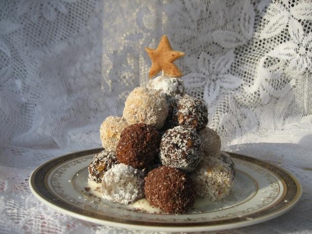 Vegan Christmas Truffles For Breast Cancer Prevention