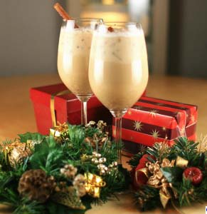 Vegan Christmas Eggnog Courtesy of SheKnows.com