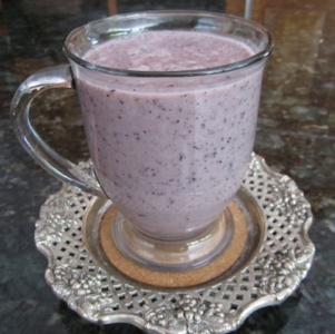 Breast Cancer Weight Loss To Reduce Risk Recipes-blueberry-cardamom-smoothie