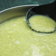 Vegan Cream of Broccoli Soup For Breast Cancer Prevention. Photo Courtesy TuxedoCat.us
