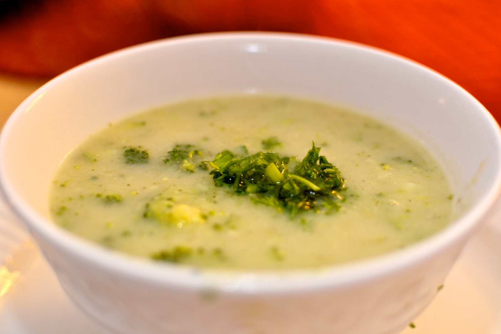 Vegan Cream of Broccoli Soup – Breast Cancer Authority