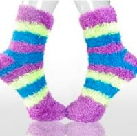 breast cancer chemotherapy fuzzy socks