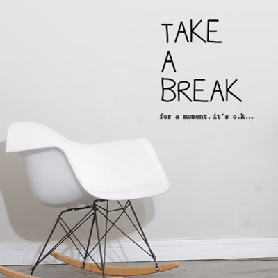 For Breast Cancer Patients and Survivors - Take A Literal Break