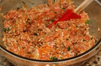 Stuffed Cabbage Mix Ingredients