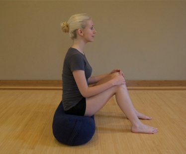 Tabletop Yoga Pose For Breast Cancer Step 1