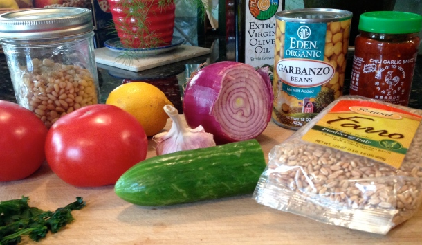 Farro and Pine Nut Tabbouleh Recipe For Breast Cancer