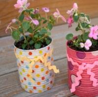 Flower Pot Recycling Ideas