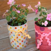 Flower Pot Recycling Ideas