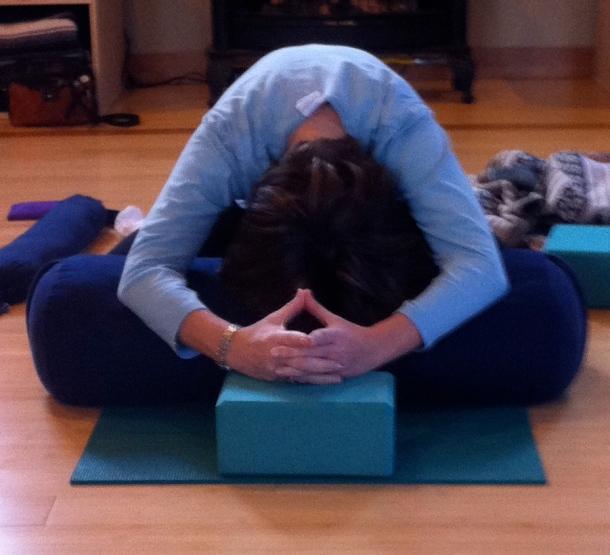 Free Seat Forward Bend Yoga Pose