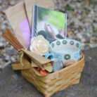 Organic Tea Gift Basket For Breast Cancer