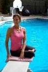 Biginner's Twist Pose For Breast Cancer