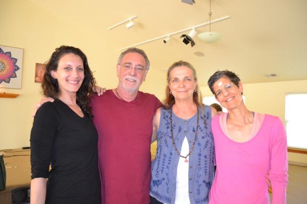 Angela Strynkowski, Krishna Das, Diana Ross & Anne Alexander