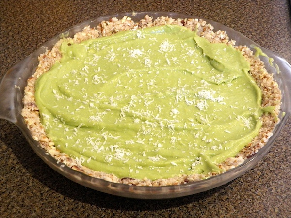 Tropical Icebox Pie-Dairy & Sugar Free Recipe