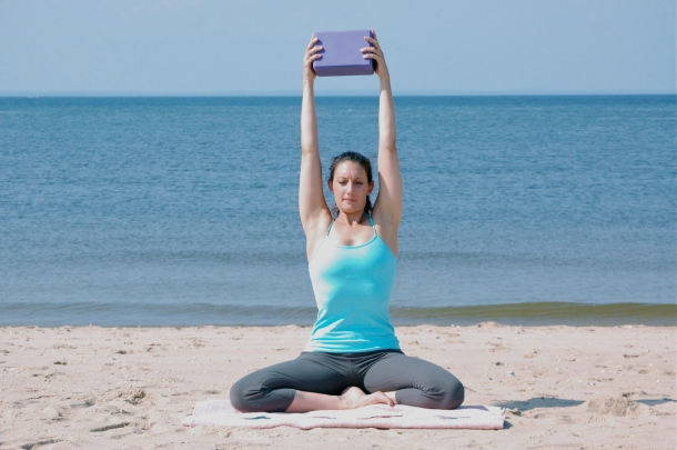 Let It Rise Yoga Pose For Breast Cancer & Lymphedema