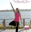Tree Pose With Chair Yoga Pose For Breast Cancer