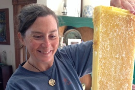 Saving The Bees & Extracting Honey - A Breast Cancer  Healing Therapy