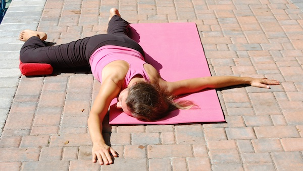 Yoga For Breast Cancer - Wheel of Life Pose