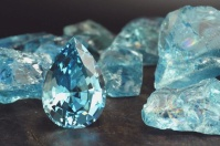 Aquamarine For Breast Cancer Water Garden