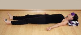 Breast Cancer Yoga Savasana