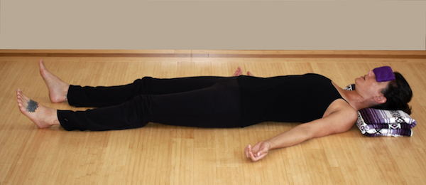Breast Cancer Yoga Savasana