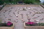 Heart Shaped Labyrinth For Breast Cancer