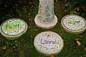 Poetry Stones For Breast Cancer Garden
