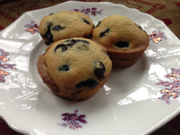 Vegan Blueberry Muffins For Breast Cancer Prevention