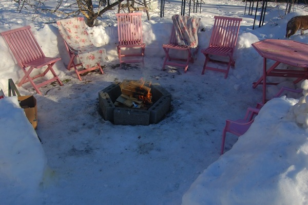 Fire Pit Ideas For A Backyard Breast Cancer Healing Garden