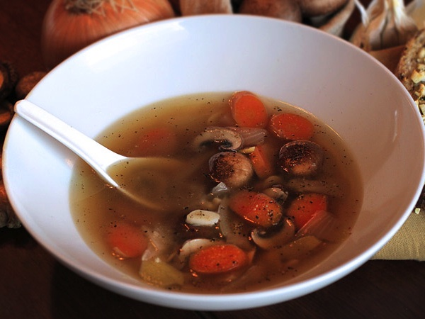 Shiitake Mushroom Soup For Breast Cancer