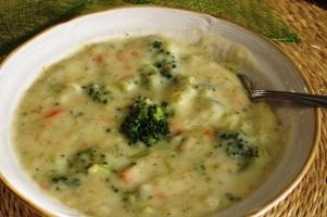 Vegan Broccoli & Cauliflower Bisque