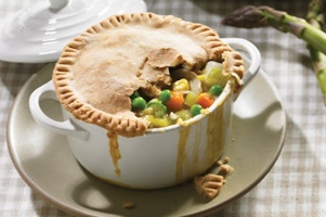 Vegan Chicken Pot Pie