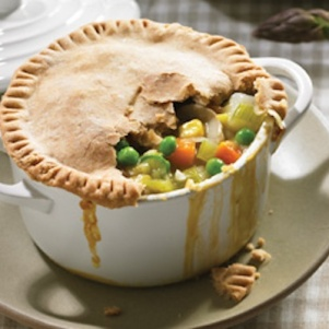 Vegan Chicken Pot Pie