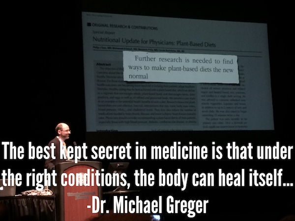 Dr. Michael Greger Gives Advice For The Breast Cancer Community