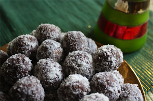 Rich Healthy Chocolate Rumballs For A Cancer Diet