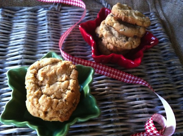 Vegan Peanut Butter Oatmeal Cookies For Breast Cancer
